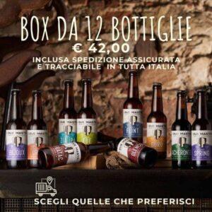 box 12 bottiglie cl 33